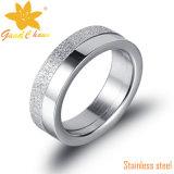 Exsr62A Anéis de noivado de prata com pedras Stellux