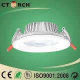 Buona dissipazione di calore di alluminio del dispositivo di Ctorch LED giù 5W chiaro