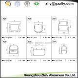 벽 세척 빛을%s 알루미늄 밀어남 또는 단면도 횡단면적인 전망