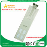 Tous dans un éclairage solaire du modèle IP65 80W DEL