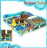 Patio suave de interior de los niños del equipo plástico de la aptitud del parque de atracciones