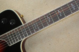 Hanhai Musik/Halb-Hohle rote elektrische Gitarre (Klassiker T5)