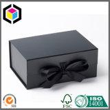 Лоснистая коробка подарка бумаги картона печати Litho цвета с магнитом