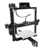 선택적인 크기를 가진 최신 판매 LCD A2 금속 프레임 2 바탕 화면 DIY 3D 인쇄 기계 I3