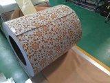 Il colore piano di CGCC Dx51d PPGI ha ricoperto l'acciaio d'acciaio galvanizzato di Yehui della bobina