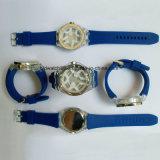 Silikon-Hand stoppt heiße verkaufende analoge Sport-Silikon-Uhren für Mann-Damen ab