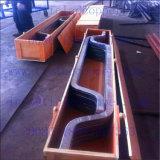 Gr1 Staaf van de Steun van het Aluminium van het Titanium de Beklede voor de Productie van de Folie van het Koper