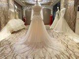 新しい到着2017の多色刷りの結婚の鍵穴のウェディングドレス