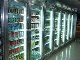 저온 저장 냉장고에 있는 도보