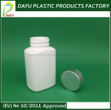 HDPE 120mlの長方形の白いカラー医学の丸薬プラスチックびん
