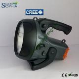 Nuovo 10W indicatore luminoso ricaricabile di pesca del CREE LED con la fascia della spalla