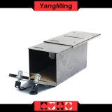 Da caixa dedicada do dinheiro da moeda do ferro da manufatura do casino o tanque de água de bombeamento para instala a tabela do póquer do casino com fechamento Ym-Mx01