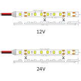 Tira flexível do diodo emissor de luz da tira 60 LEDs/M de SMD 1210