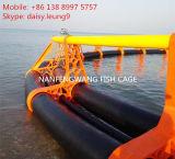 Jaulas flotantes de la piscicultura del equipo de la acuacultura del PE de la alta calidad para la Tilapia