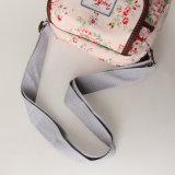 Saco de ombro floral cor-de-rosa impermeável da lona do PVC da forma (99072)