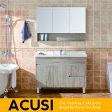 Einfache Art-heiße verkaufende festes Holz-Badezimmer-Eitelkeits-Badezimmer-Schrank-Badezimmer-Möbel (ACS1-W08)