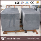 Polished/ha fiammeggiato le mattonelle grigio scuro del granito del sesamo G654 per i progetti differenti