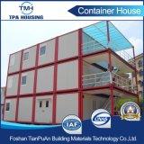Het vlakke Huis van de Container van de Sandwich van het Pak 20FT Comité Geprefabriceerde voor Verkoop