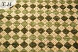 緑のGemotricのシュニールの家具ファブリック(FTH31151)