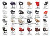 Красный вводя в моду стул с высокой кожей PU Quanlity для используемого магазина салона