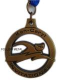 Herausforderungs-Medaille für Ken-Caryl, Einladungs mit blauem Farbband