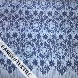 Populäres rundes Blumen-Baumwollspitze-Gewebe für Kleid