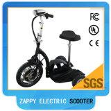 """""""trotinette"""" elétrico Zappy de 3 rodas de 500W 48V com assento e luz principal dianteira"""
