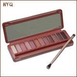 Sombreador de ojos vendedor caliente de los colores de la sombra de ojo del maquillaje 12 con Brusher