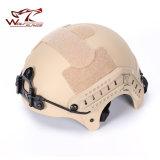 Nvgの台紙及び側面柵の処置バージョン戦術的なヘルメットが付いているIbhのヘルメット