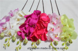 가정 훈장을%s 좋은 판매 고품질 직물 가짜 꽃 인공적인 나방 난초 나비 난초