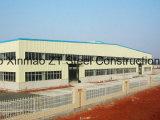 Edifício claro da construção de aço usado para a oficina industrial, casa de campo, hotel, escritório provisório, casa do recipiente