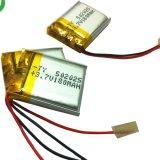 pilha de bateria recarregável do Li-Polímero 180mAh de 5X20X25mm com PCM