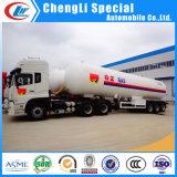 Acoplado del petrolero de camino del Tri-Árbol 59.52cbm 25tons de Q370r 12m m 30mt LPG