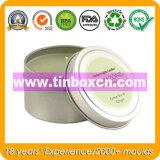 La bougie ronde de bidon peut, cadre journalier de bidon, boîte en fer blanc de course