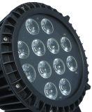 DJの装飾および党供給12PCS RGBWA紫外線IP65 LEDの同価ライト