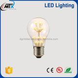 MTX 3W A60 LED 전구 E27 220V 램프 온난한 공정한 판단 전구 훈장