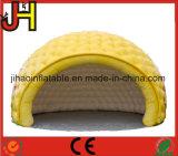 판매를 위한 주문 노란 팽창식 거품 천막