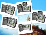 4 Draht-videotür-Telefon-Türklingel 7 Zoll-Bildschirm-inländisches Wertpapier
