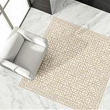 mattonelle di pavimento di marmo della copia di 600X600mm con materiale da costruzione di superficie lucido