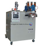Machine de bâti d'unité centrale de polyuréthane de deux couleurs