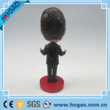 Polyresin Custom Bobble Head Figurines Résine Bobblehead