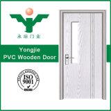 La porte intérieure de PVC de forces de défense principale de /Glass a fait la province de Zhejiang
