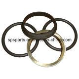 シールのグループか浮かぶか、またはデュオの円錐形の金属の表面ドリフトのリングまたはAtuopart