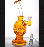 Narghilé poco costosi di vetro dell'impianto offshore dei tubi di acqua dell'uovo variopinto di Faberge
