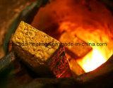 Macchina di fusione del forno ad induzione dell'oro con poche perdite e di fusione veloce
