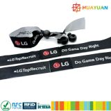Event Management 13.56MHz Passives RFID Textil Wristband