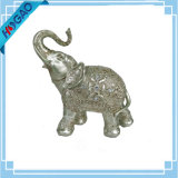 Decoración casera decorativa tallada tronco afortunado de la estatua de la resina de la estatuilla de los elefantes nueva