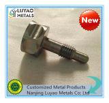 Do alumínio de bronze do aço inoxidável do OEM da precisão peças fazendo à máquina do CNC