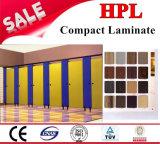precio laminado de 12m m HPL/Compact