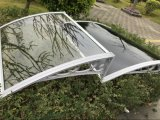Euro Design Rain Wind Protection Garden Canopée ornementale